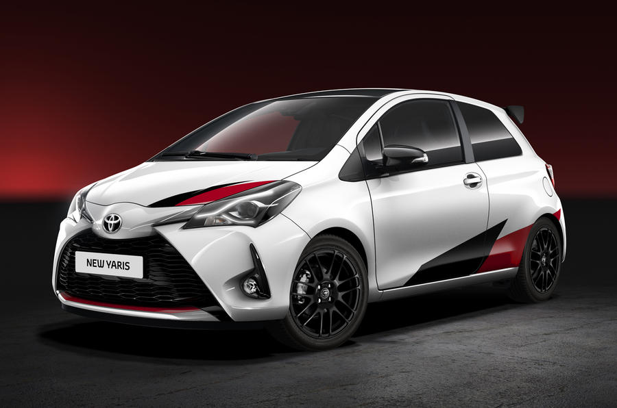 high performance toyota yaris revealed autocar. Black Bedroom Furniture Sets. Home Design Ideas