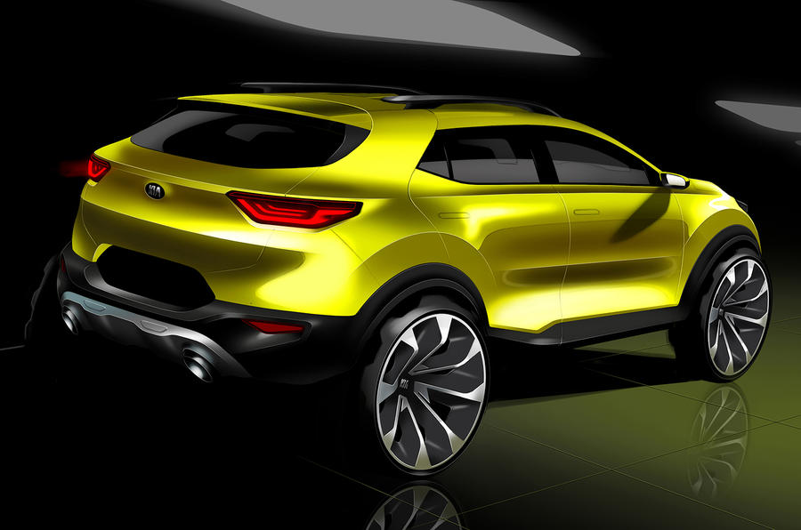 Kia's new small SUV will be called 'Stonic'