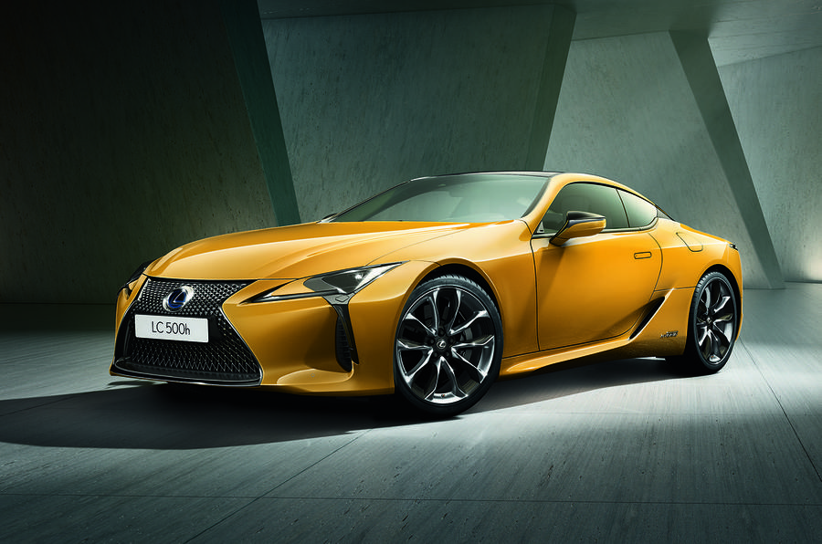 Lexus LC Limited Edition set for Paris motor show