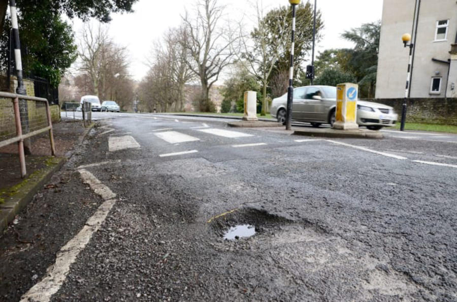 UK's pothole-blighted roads will cost more than £9bn to fix