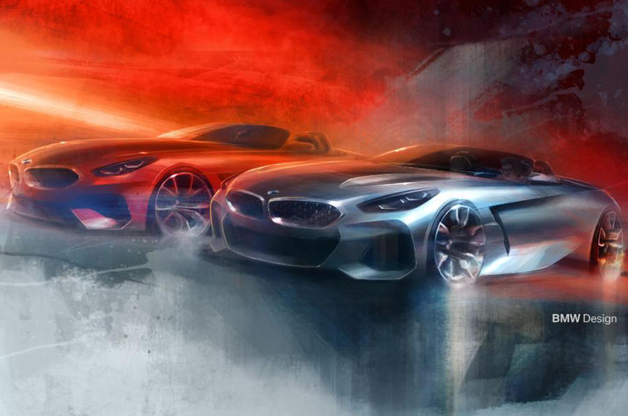 2019 BMW Z4: design shown