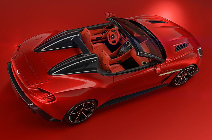Aston Martin Vanquish Zagato Speedster and Shooting Brake models confirmed
