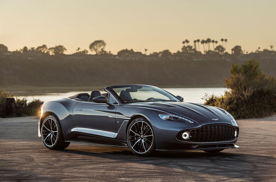 Aston Martin reveals Vanquish Zagato Shooting Brake and Speedster