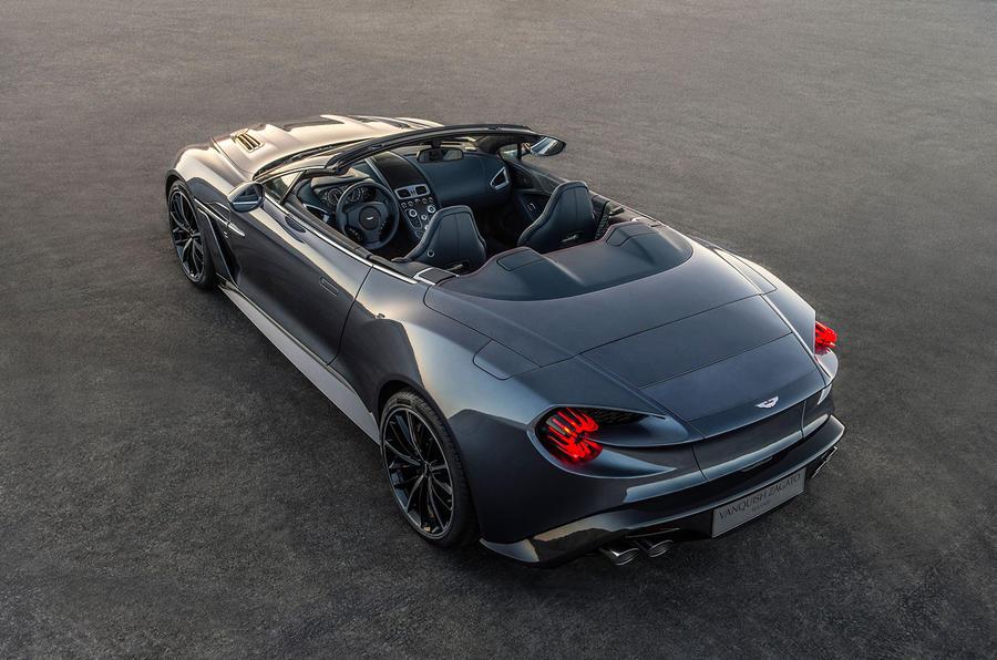 Aston Martin Vanquish ...V12 Vanquish 2017