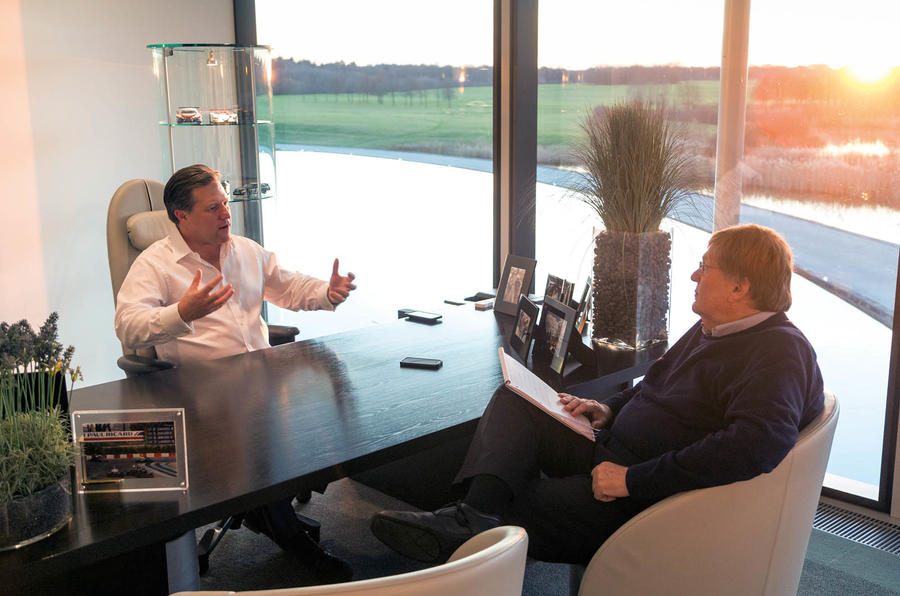 McLaren's Zak Brown on why next year will be a 'game changer' for the brand