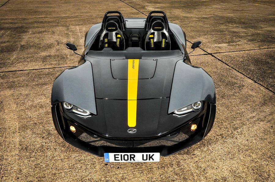 Zenos E10 R front end