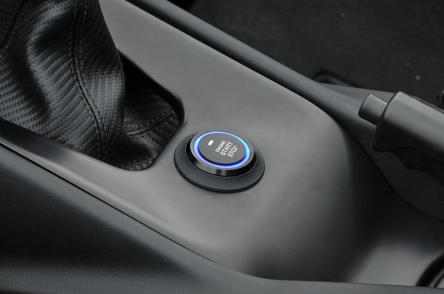 Zenos E10 R ignition button