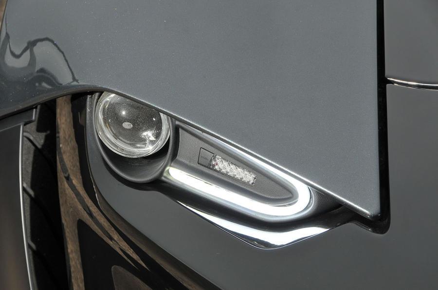 Zenos E10 R headlights