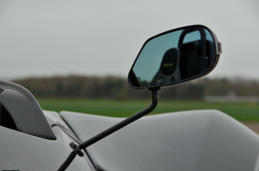 Zenos E10 R wing mirror