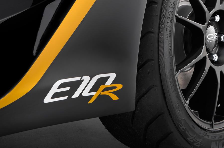 Zenos E10 R detail
