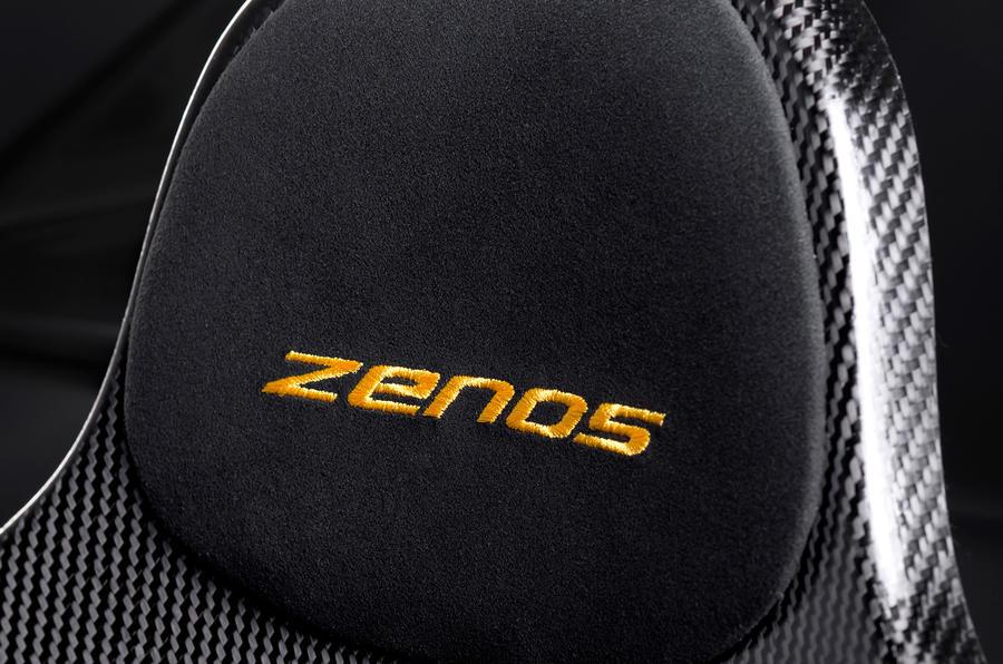 Zenos E10 R seat