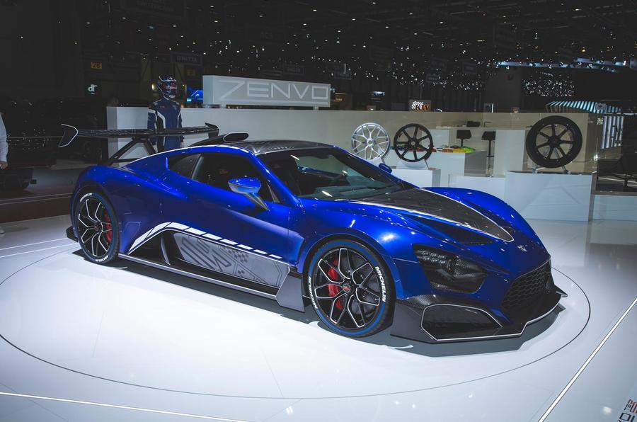 2019 Geneva motor show - Zenvo TSR-S