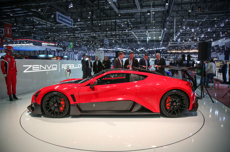 The Zenvo TSR-S