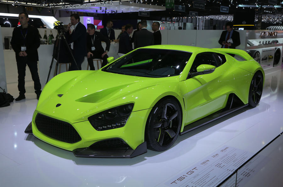 1163bhp Zenvo TS1 GT anniversary model revealed | Autocar