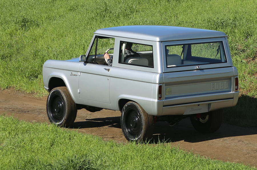 Zero Labs electric Ford Bronco - rear