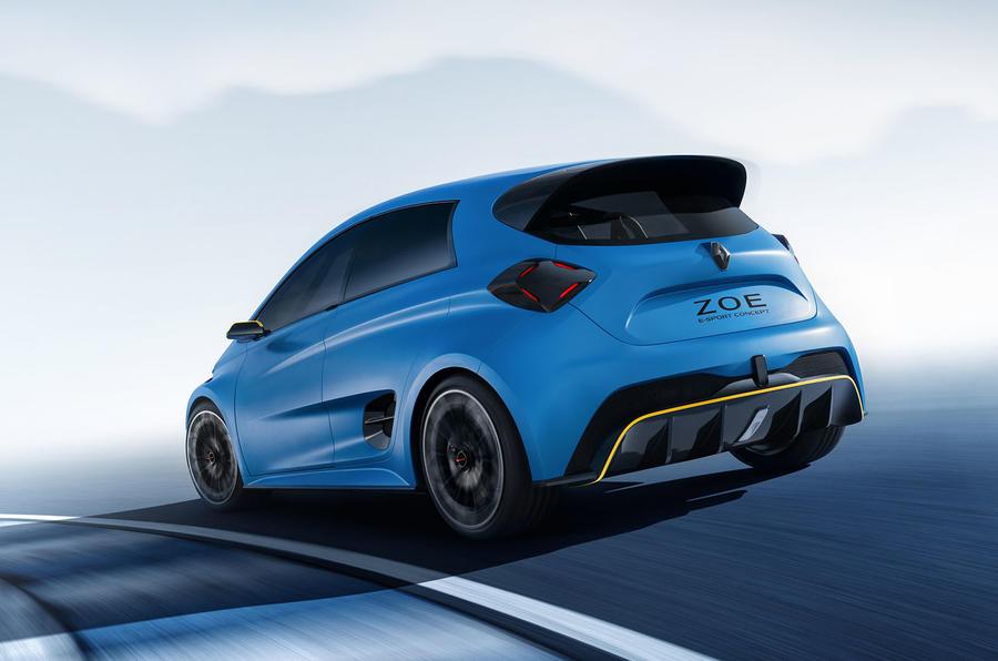 Renault ZOE e-sport concept whizzes into Geneva 2017