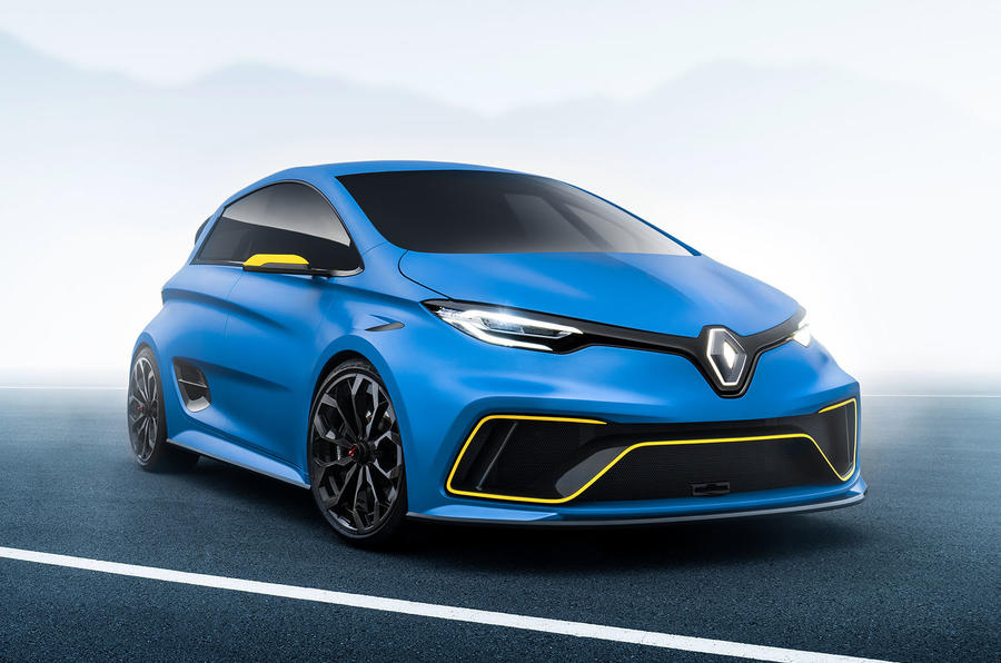 hot renault zoe e sport gets 460bhp autocar. Black Bedroom Furniture Sets. Home Design Ideas