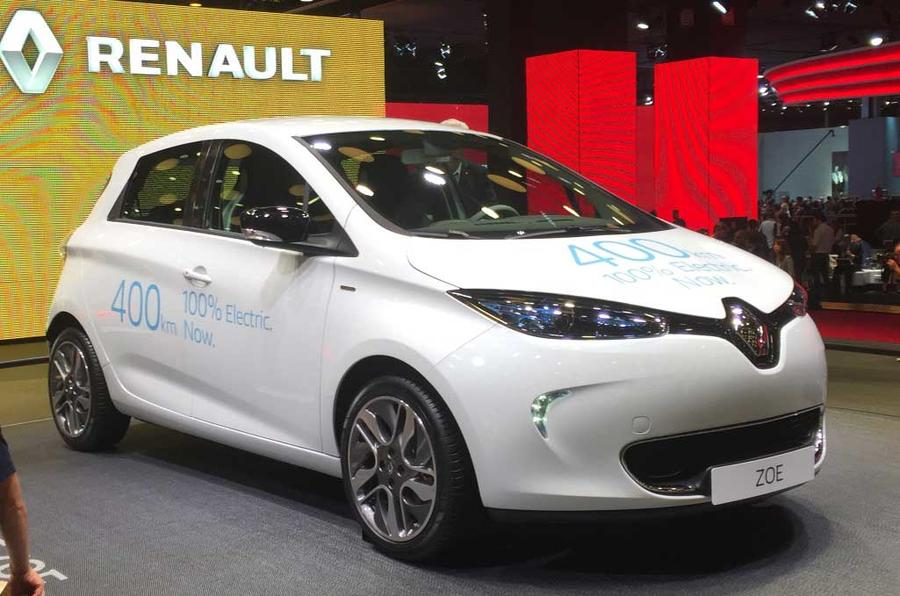 Upgraded Renault Zoe gets 250-mile range