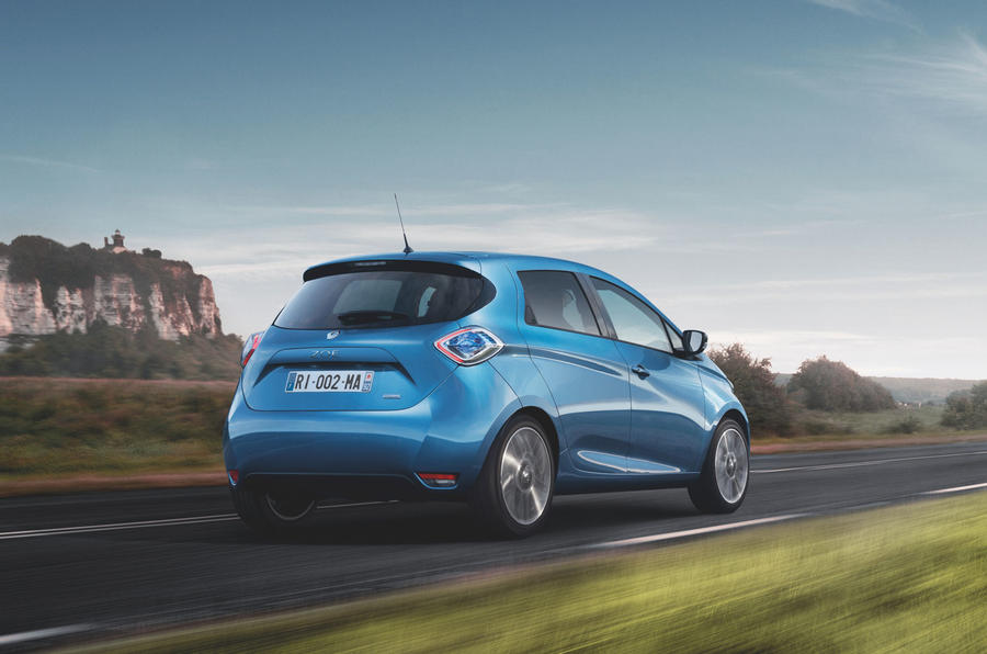 New Renault Zoe R110 priced from £18,240