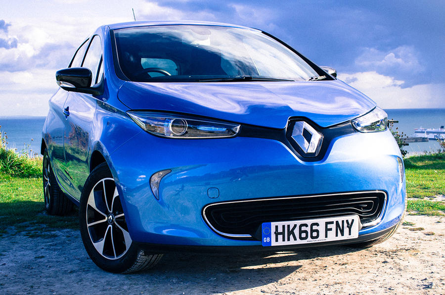 We take the all-electric Renault Zoe on a trip to Paris
