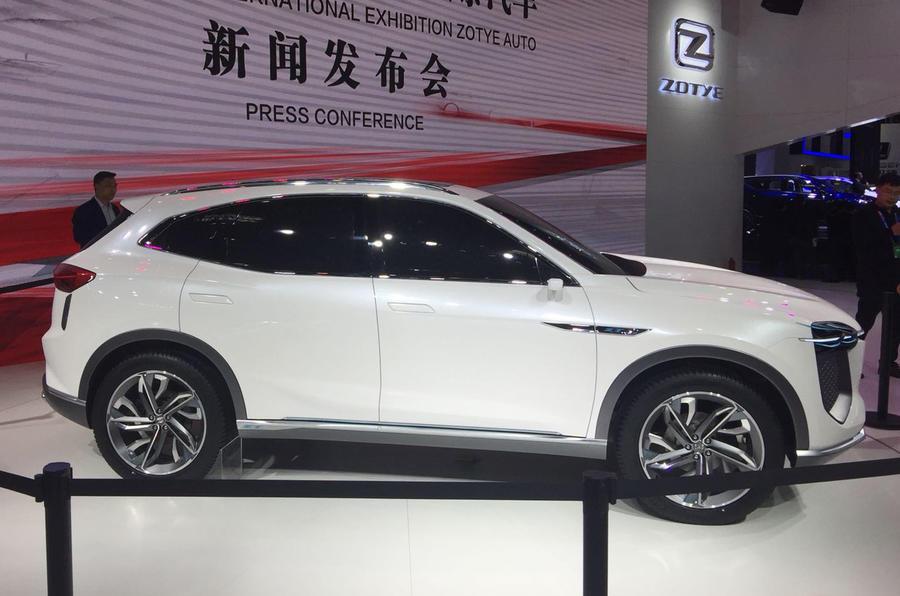 Beijing motor show Zotye