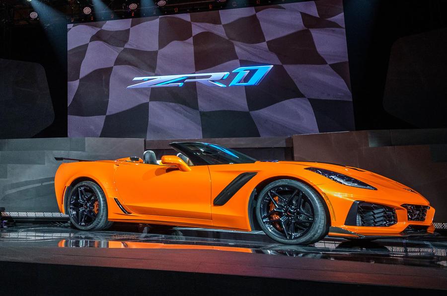 212mph Corvette ZR1 convertible revealed