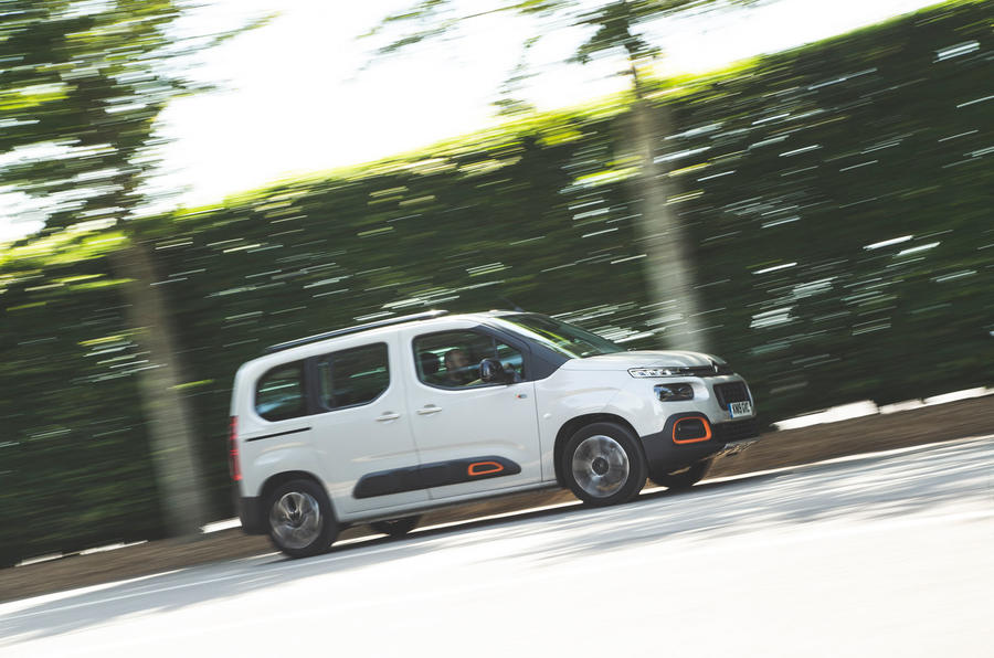 Citroen Berlingo 2019 long-term review - hero front