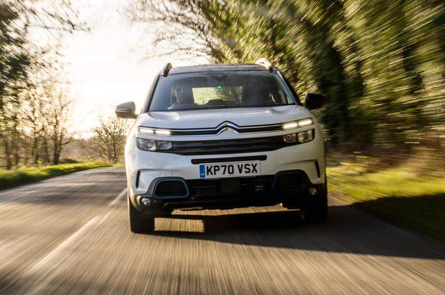 1 Citroën C5 Aircross Hybrid 2021 Bilan à long terme Avant du héros