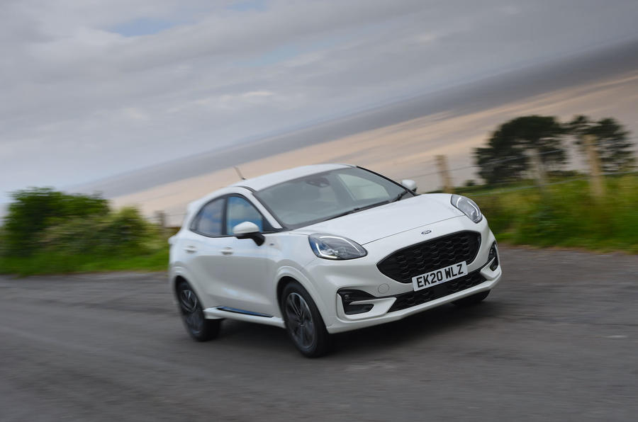 Ford Puma 2020 long-term review - hero front