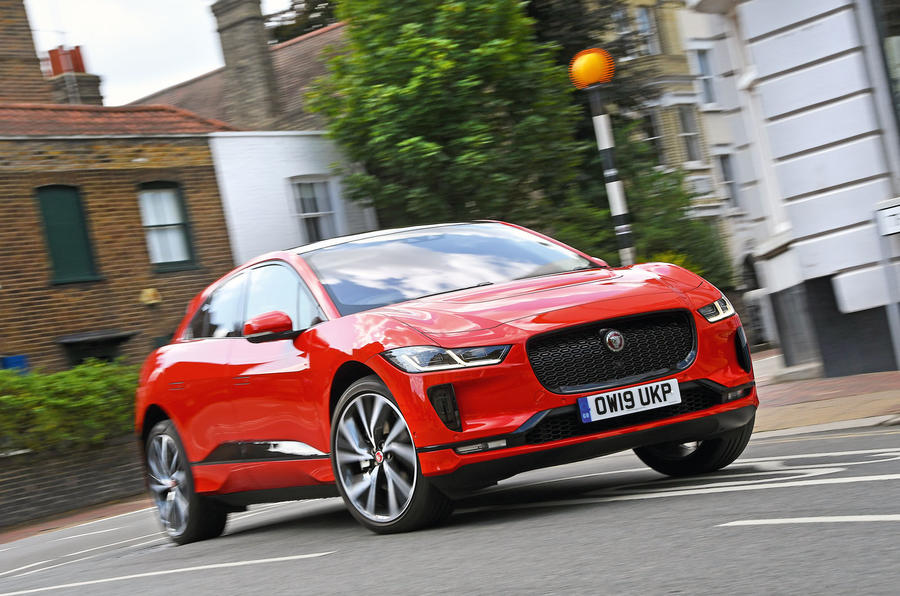 Jaguar I-Pace 2019 long-term test review - hero front