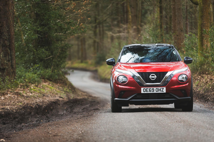 Nissan Juke 2020 long-term review - hero front