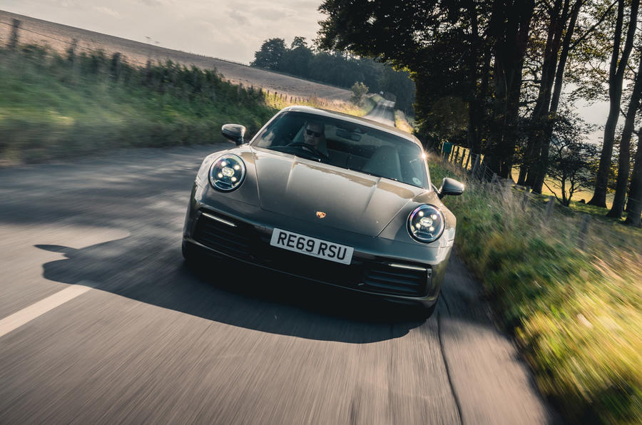 Porsche 911 Carrera 2020 long-term review - hero front