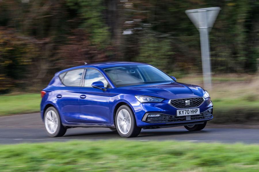 Seat Leon TSI 2021 long-term review - hero front