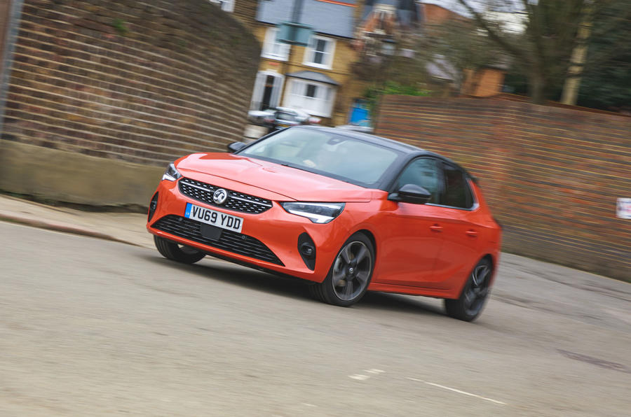 Vauxhall Corsa 2020 long-term review - hero front