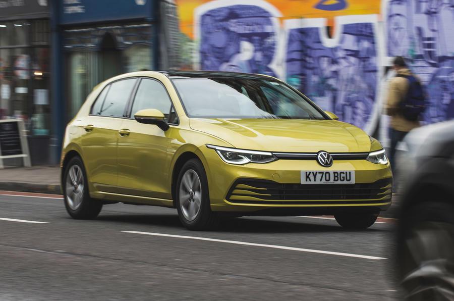 1 Volkswagen Golf 2021 : le héros de l'examen à long terme