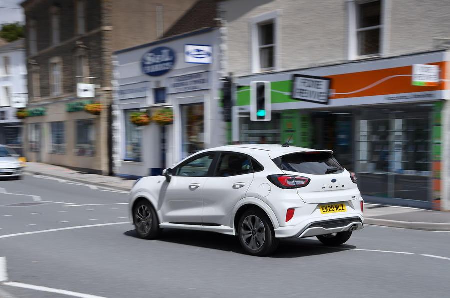 Ford Puma 2020 : la ville à l'arrière