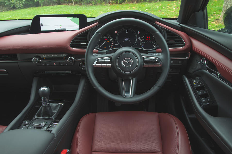 Mazda 3 2019 long term review - dashboard