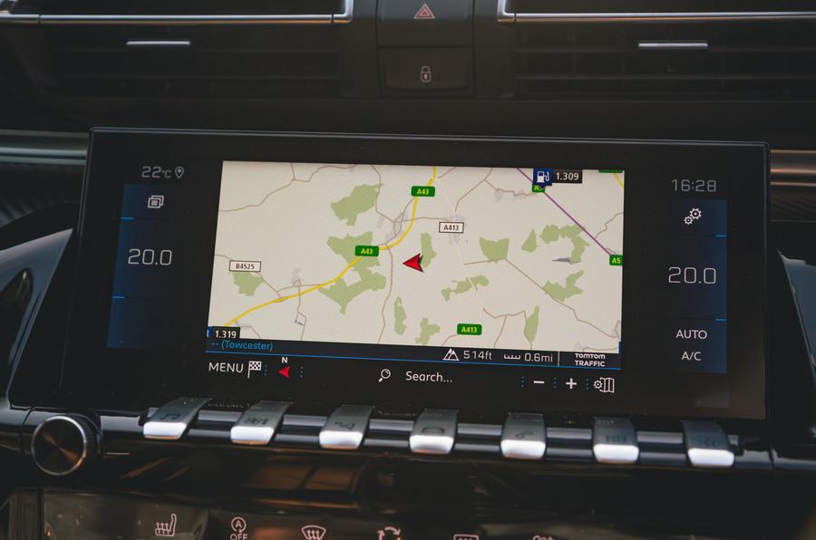 Peugeot 508 2019 : bilan à long terme - infotainment