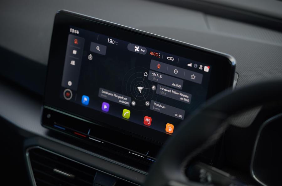 Seat Leon TSI 2021 long-term review - infotainment