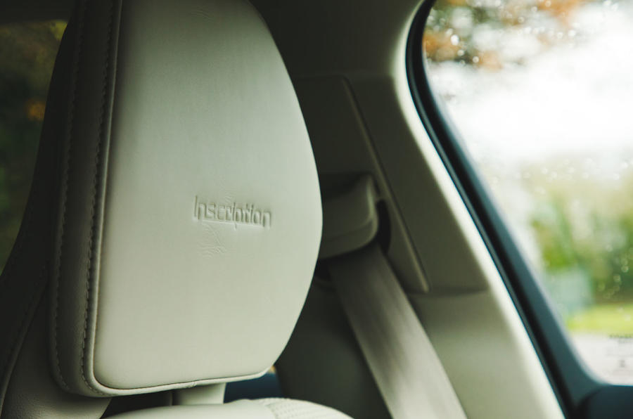 Volvo S60 T5 2020 long-term review - headrest