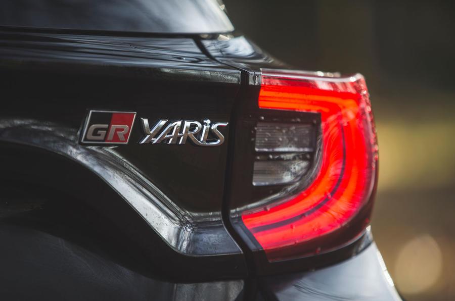 11 Toyota GR Yaris 2021 : révision à long terme des feux arrière