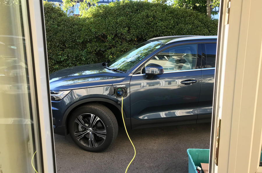 Volvo XC40 Recharge T5 2020 long-term review - home charging