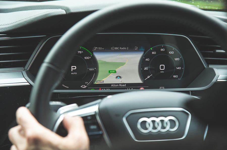 Audi E-tron 2019 long-term review - instruments
