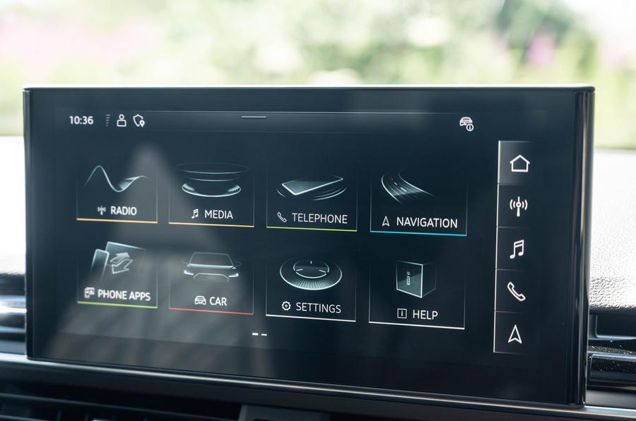 Audi S5 Sportback 2020 long-term review - infotainment