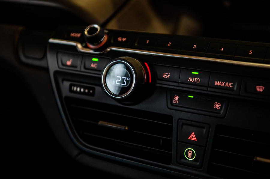 BMW i3S 2019 long-term review - climate controls