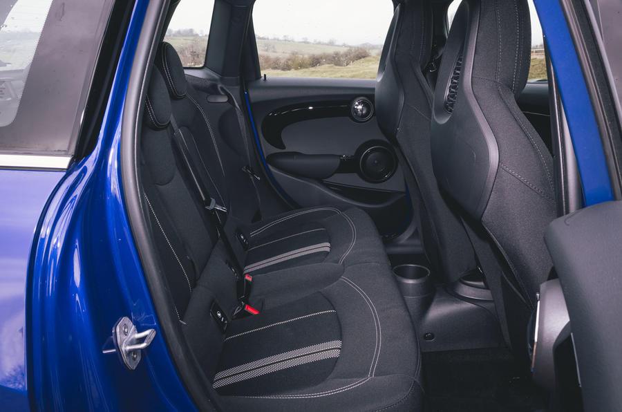Mini 5-door Cooper S 2019 long-term review - rear seats