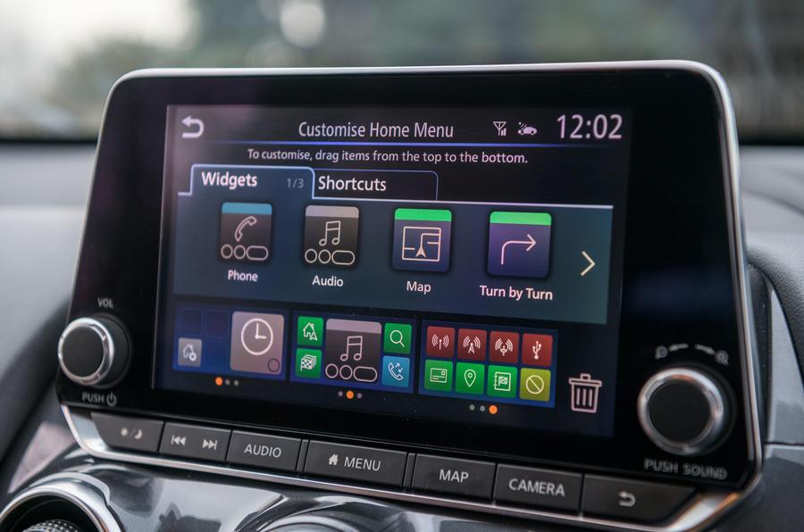 Nissan Juke 2020 : examen à long terme - infotainment