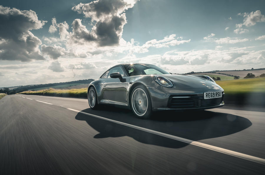 Porsche 911 Carrera 2020 long-term review - on the road front