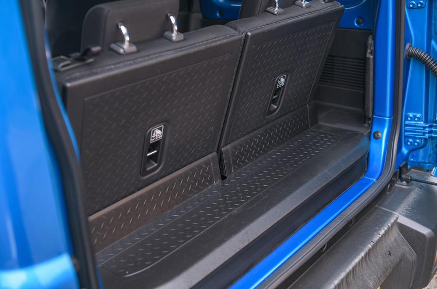 Suzuki Jimny 2019 long-term review - boot