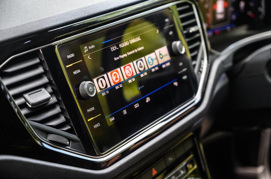 Volkswagen T-Roc R 2020 : bilan à long terme - infotainment